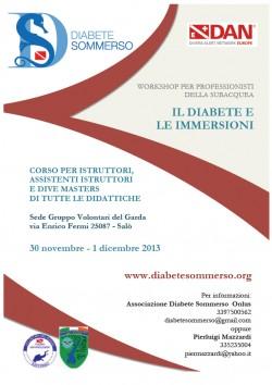 Il diabete e le immersioni